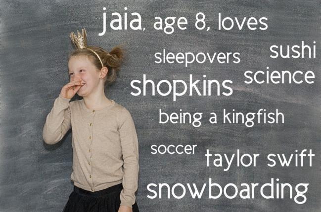 Jaia age 8